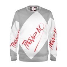 Trevieno Line Red/Grey Sweatshirt