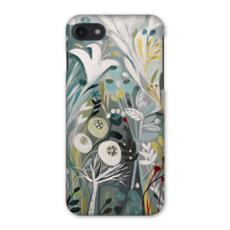 iPhone 8 or 7 Case in Winter Greys design by Natalie Rymer
