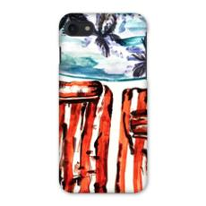 By the Pool Watercolour iPhone 7 Case