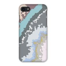 Pastel Cold Geode iPhone 7 Case