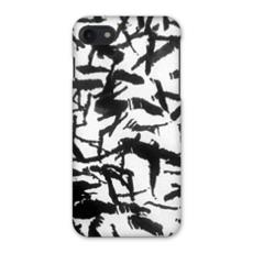 Black and white ink Wood iPhone 7 Case