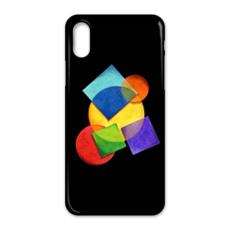 Candy Rainbow Geometric iPhone X Case