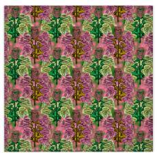 Pink, Green Duvet Covers [kingsize shown] and 2 pillowcases  Foxglove  Tropical