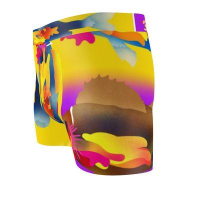 Neon Fish Cut & Sew Boxer Briefs