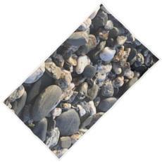 Beach Towel - Pebbles on the Beach