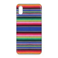 iPhone X Case – Serape-Print #1 Cobalt