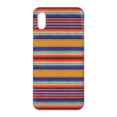 iPhone X Case Serape-Print #2 Saffron