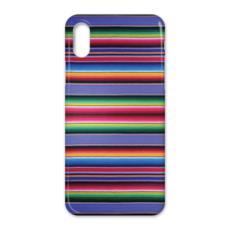 iPhone X Case – Serape-Print #8 Lavender
