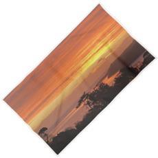 Helford sunrise beaxh towel