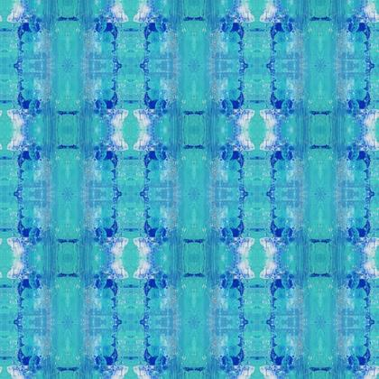 Fabric Printing - A touch of blue