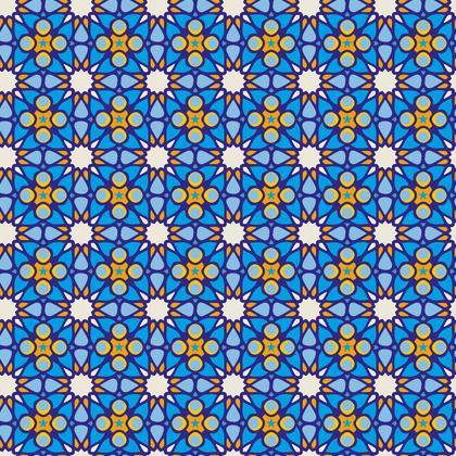 Moroccan Blue - bold and bright