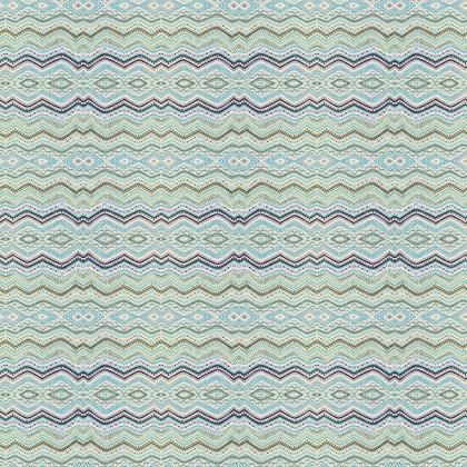 Pastel mint ethnic zig zag pattern