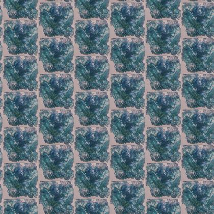 Fabric Printing - Flowering blues
