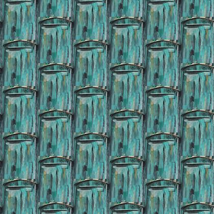 Fabric beautiful blues