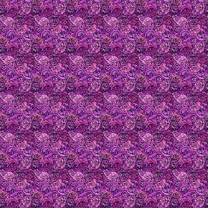 Ranunculus fabric, purple ranunculus by Magenta Rose Designs at Contrado