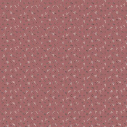 Pink Floral Branches #2 Fabric