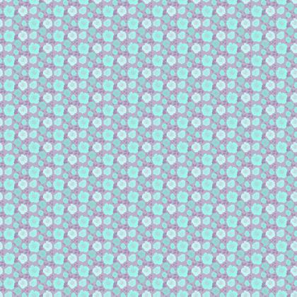 Blue Roses Fabric