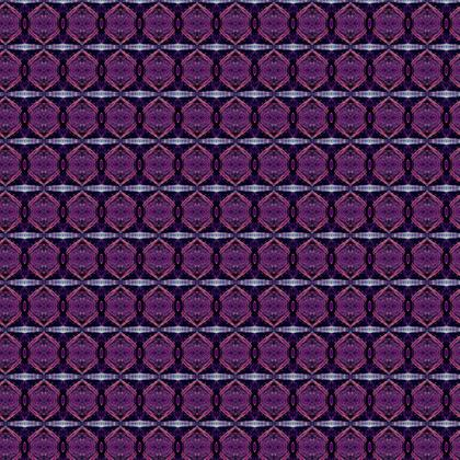 Textile Design Print - Purple Fantasy