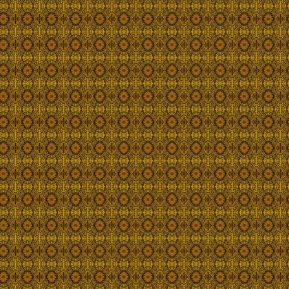 Textile Design Print - Yellow Circles