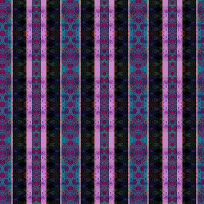 Textile Design Print - Purple Stripes