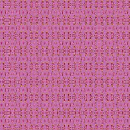 Textile Design Print - Pink Doodle