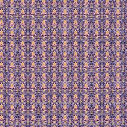 Textile Design Print - Pink Nouveau
