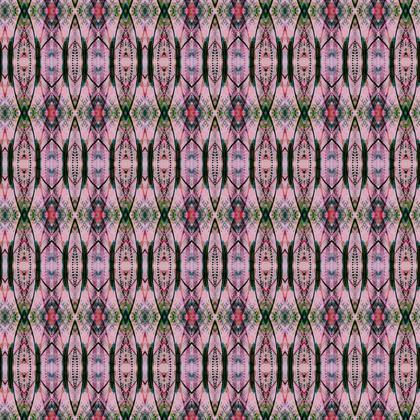 Textile Design Print - Pink Deco