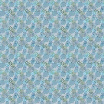 Mandala Dream (Blue/Small) - Luxury Fabric