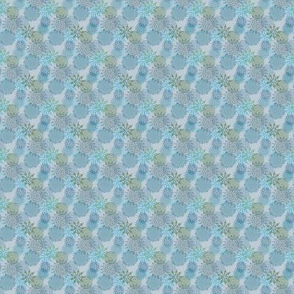 Mandala Dream (Blue/Large) - Luxury Fabric