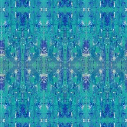 Fabric Printing - Blue Mirage