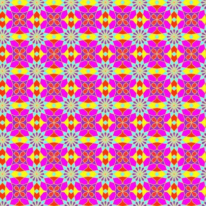 Fabric Printing Arabesque Pattern