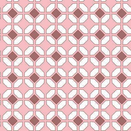 Fabric Printing Colorful Mosaic Pattern