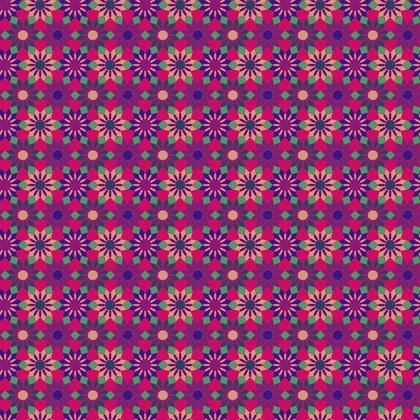 Fabric Printing Floral Pattern