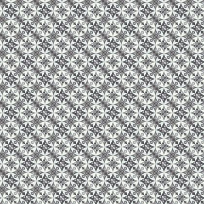 Fabric Printing Arabesque Grey Tile Pattern