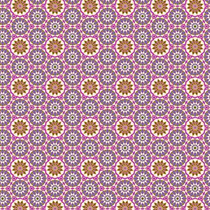 Fabric Printing ArabicPurpke Pattern