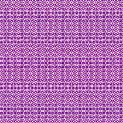 Fabric Printing Purple Leaves