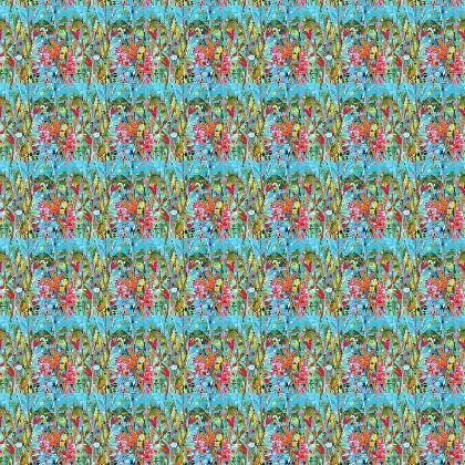 Secret Garden Natalie Rymer design repeat fabric