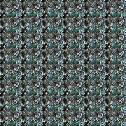 Einstein's Tulips Fabric