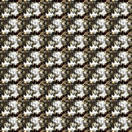 Musical Daffodils Fabric