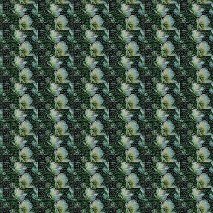 Einsteins Twined Tulips Fabric