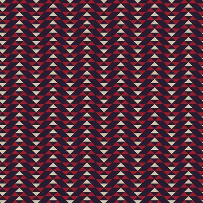 Fabric Printing Mayan Pattern Blue Red