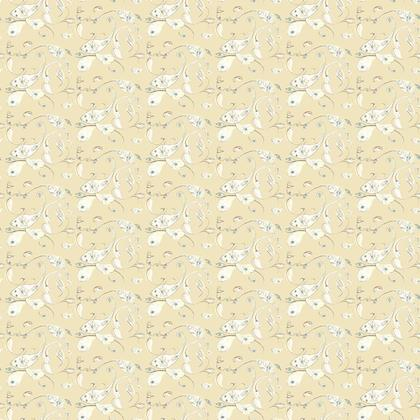 PaisleyEyeVanilla fabric