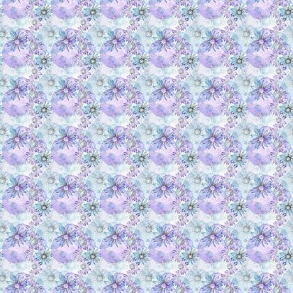 Fabric: Blue Coneflowers