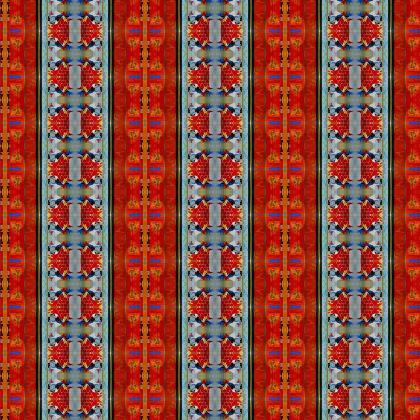 Fabric printing - Royal reds