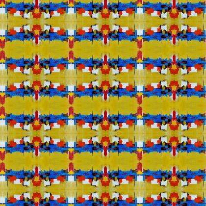 Morrocan Spice fabric printing