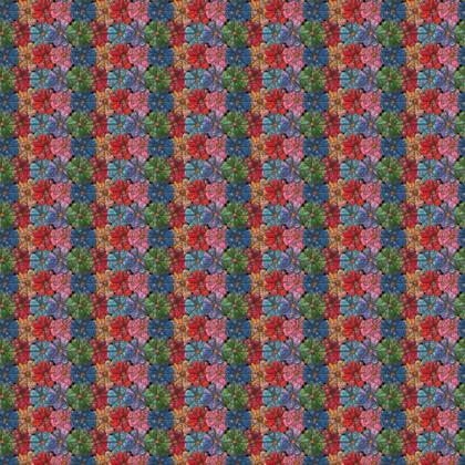 Crazy Creature Flower Fabric