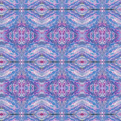 Swirls design Fabric printing