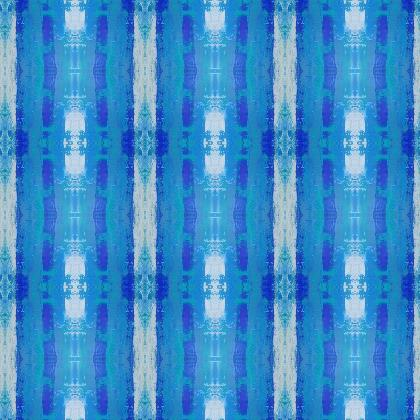 Blue stripes fabric printing