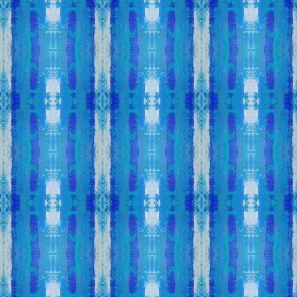 Fabric printing - Blue stripes