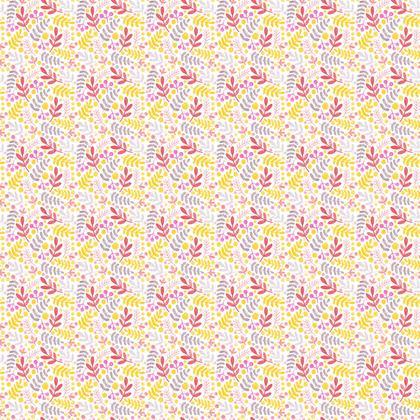 Summery Fern fabric